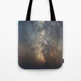 Portrait of a Galaxy Tote Bag