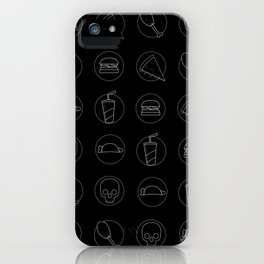 danger fast food iPhone Case