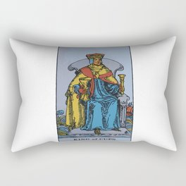 King of Cups - A Tarot Print Rectangular Pillow