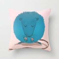 mouseusus Throw Pillow