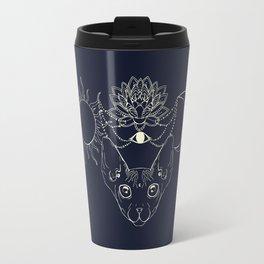 Moonight cat Travel Mug