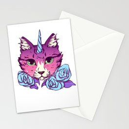Magical Cat Stationery Cards