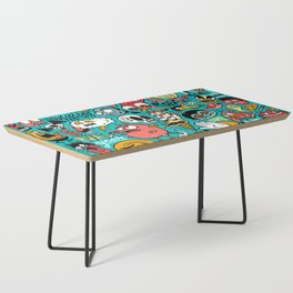 2019 New Year Pattern Coffee Table