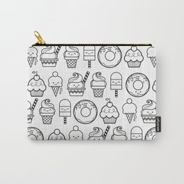 Kawaii Desserts Collage Carry-All Pouch