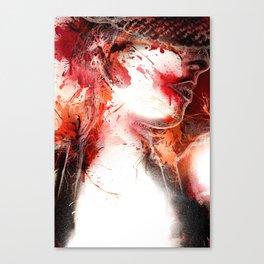 Scarlet O'Harlot Canvas Print