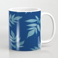 botanical Mugs featuring Botanical by Jody Edwards Art