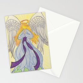 Radiant Angel Stationery Cards