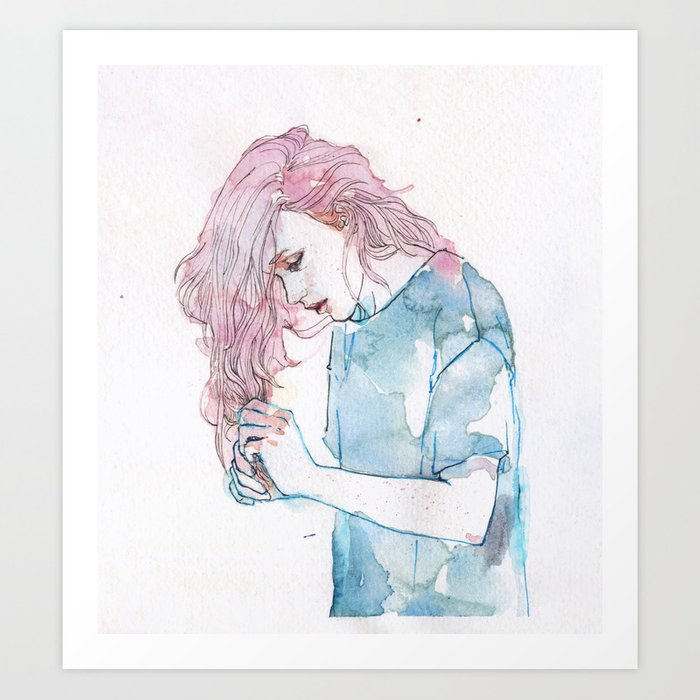 Discover the motif SMALL PIECE 08 by Agnes Cecile as a print at TOPPOSTER