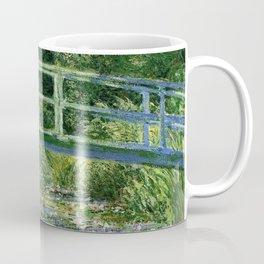Water Lilies and the Japanese bridge - Claude Monet Coffee Mug