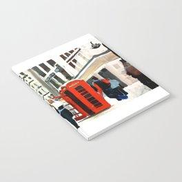 London in Winter Notebook