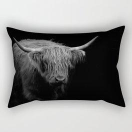 BW Hairy Coo Rectangular Pillow