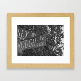 Rough Sex Framed Art Print