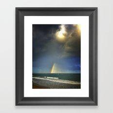 welcome rain Framed Art Print