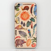 tropical iPhone & iPod Skins featuring Tropical by Vladimir Stankovic