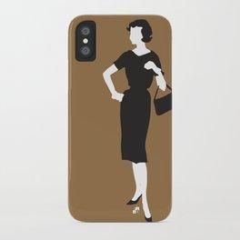 lady 4 iPhone Case