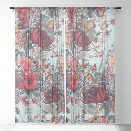 Romantic Garden VI Sheer Curtain