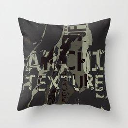 Urban decay 2 Throw Pillow