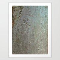 tree bark I. Art Print