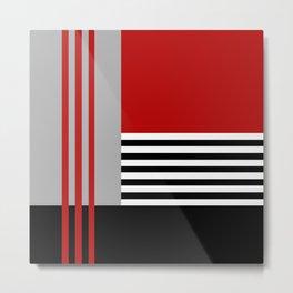 Colorful geometry 5 Metal Print