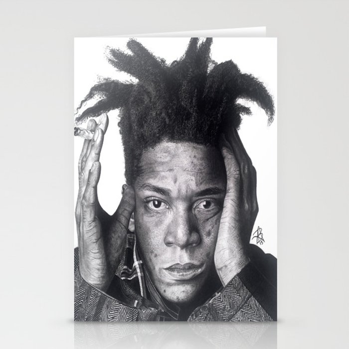 Jean-Michel Basquiat Drawing Stationery Cards