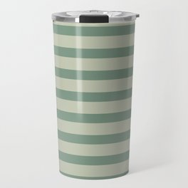 Nature Green Stripe Travel Mug