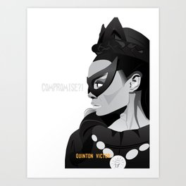 Eartha Kitt (Catwoman)  Art Print