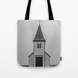 Old Church in Iceland Tote Bag