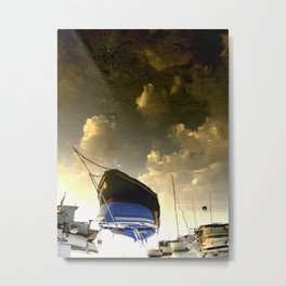 Surreal boat Metal Print
