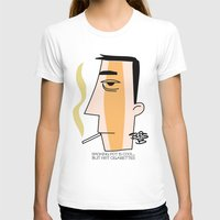 cigarettes T-shirts featuring Cigarettes by Brian Sisson
