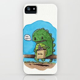 """lunch in the city"" iPhone Case"