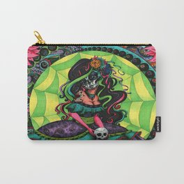 Paisley Calavera Carry-All Pouch