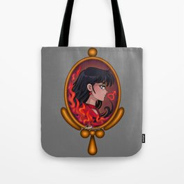 Sailor Mars - Art Nouveau Cameo Jewel Tote Bag