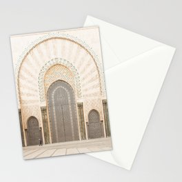 Perspective - Hassan II Mosque - Casablanca, Morocco Stationery Cards