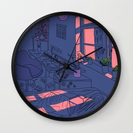 Lazy Day Wall Clock