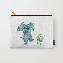 Mike and Sully Monsters Inc. Disneys Carry-All Pouch