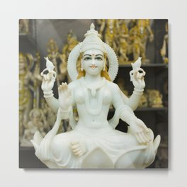 Lakshmi-Hindu Goddess in India Metal Print