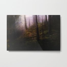 Travelling darkness Metal Print