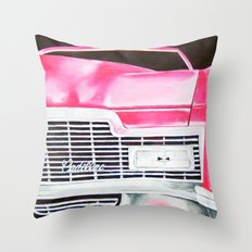 Pink Cadillac - Cotton Candy  Throw Pillow