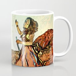 Blowing Bubbles on the Mountain Coffee Mug