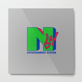 N64 Entertainment Metal Print