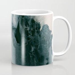 greyish brush strokes Coffee Mug