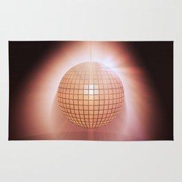 Sparkling disco ball Rug