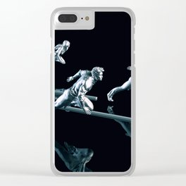 Business Services with a Dedicated Team Ready Clear iPhone Case