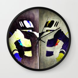 Death of a Spaceman Wall Clock