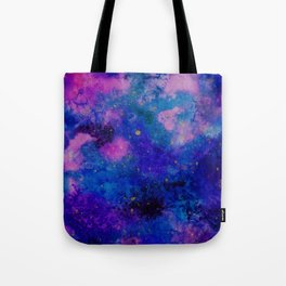 Watercolour Galaxy Tote Bag