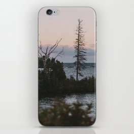 The View From Copper Harbor iPhone Skin