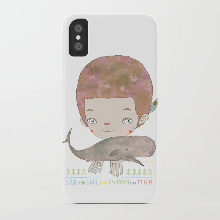 Extinction - SAVE SAFE iPhone Case