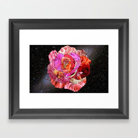 Rose Of Roses Framed Art Print
