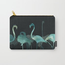 Cold Flamingos in the Night Carry-All Pouch