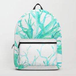 Coral reef in blue Backpack